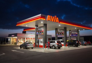 New AVIA gas station in Bulgaria